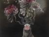 "Tiffany Bozic, ""Exhale"" 2011, acrylic on maple panel"