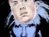 Self Portrait (Warhol), 32 x 40 inches, oil on canvas