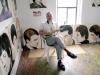 Noah Becker in his studio