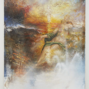 Peter Daverington, She Melts Into My Memory as a Flaming Sunset, 2015