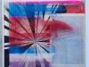 Kristen Schiele, Snow, 2014, Silkscreen, acrylic in artist frame