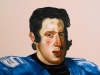 Phillip IV in the Costume of Tim Tebow, 2012, 20 x 15 inches, oil on panel