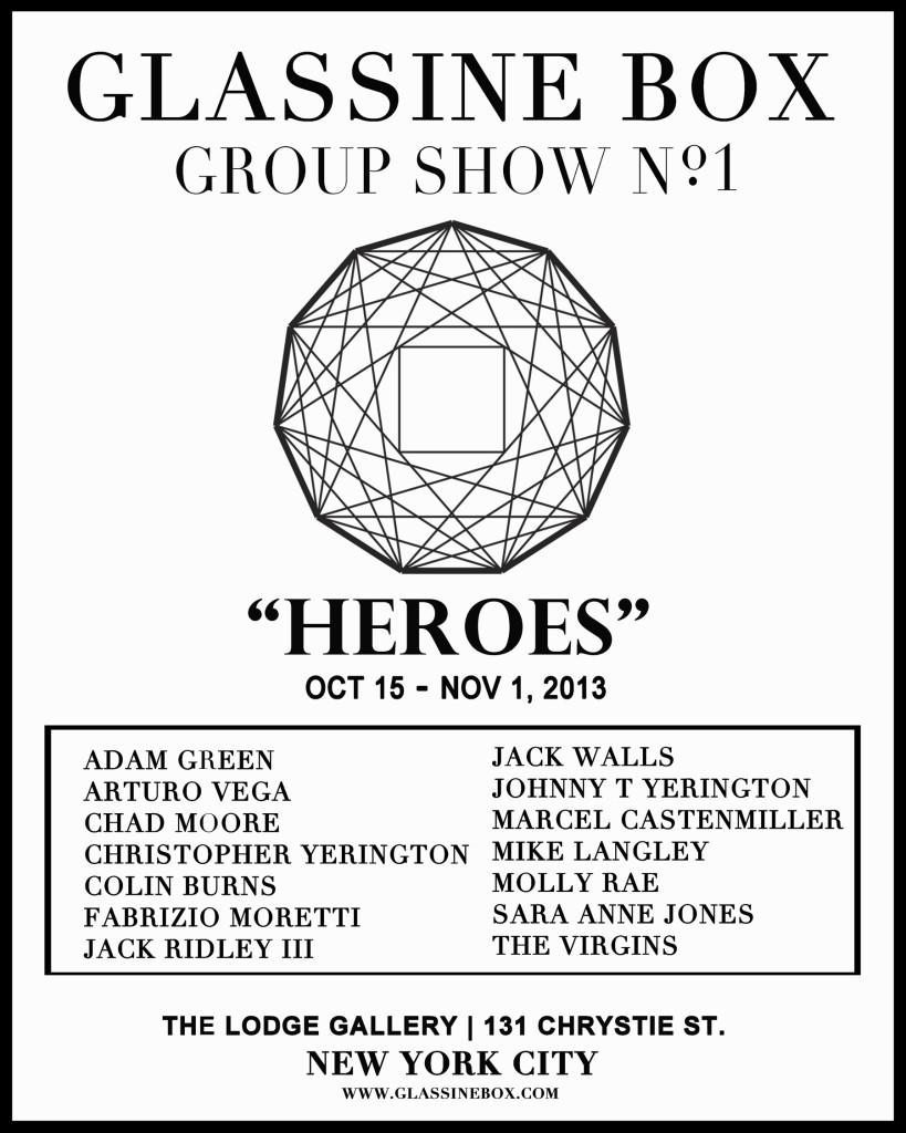 Glassine Box HEROES