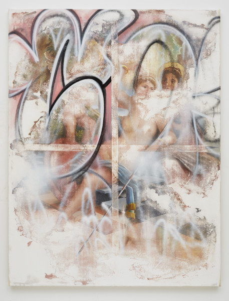Peter Daverington, Like an apparition she came descending from above, 2015